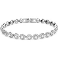 Swarovski Angelic Bracelet, White, Rhodium plated
