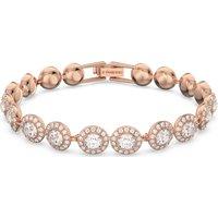 Angelic Bracelet, White, Rose-gold Tone Plated