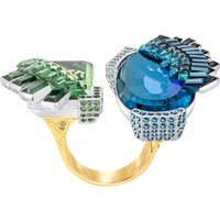 Homeric Open Ring, Multi-coloured, Mixed plating - Swarovski Crystal Gifts