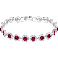 Swarovski Angelic Bracelet, Red, Rhodium plated