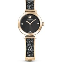 Cosmic Rock Watch, Metal bracelet, Grey, Champagne-gold tone PVD
