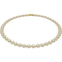 Swarovski Angelic Necklace, White, Gold-tone plated