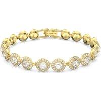 Swarovski Angelic Bracelet, White, Gold-tone plated