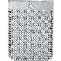 Swarovski Smartphone sticker pocket, Grey - Grey Gifts