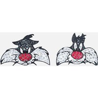 Looney Tunes Sylvester Cuff Links, Multi-colored, Rhodium plated - Cuff Links Gifts