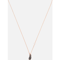 Naughty Necklace, Black, Rose-gold tone plated - Naughty Gifts