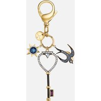 Tarot Swallow Bag Charm, Multi-coloured