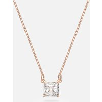 Attract Necklace, White, Rose-gold tone plated - Necklace Gifts