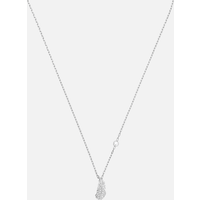 Naughty Necklace, White, Rhodium plated - Naughty Gifts