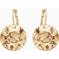 Bella Pierced Earrings, Brown, Gold-tone plated - Jewellery Gifts