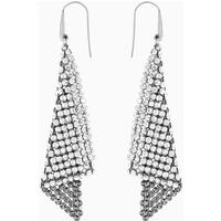 Fit Pierced Earrings, Grey, Rhodium plated - Jewellery Gifts