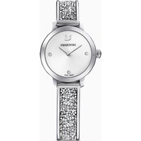 Cosmic Rock Watch, Metal bracelet, White, Stainless steel
