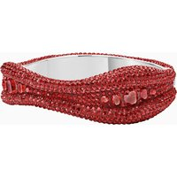 Tigris Bangle, Red, Palladium plated - Red Gifts