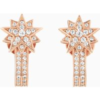 Penélope Cruz Moonsun Pierced Earring Jackets, Limited Edition, White, Rose-gold tone plated - Jackets Gifts