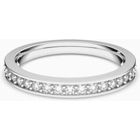 Swarovski Rare Ring, weiss, Rhodiniert