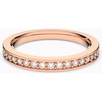 Swarovski Rare Ring, weiss, Rosé vergoldet