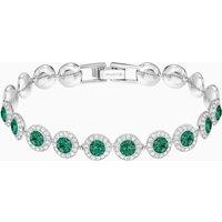 Swarovski Angelic Armband, grün, Rhodiniert