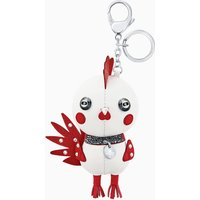 Rooster Pascal Bag Charm, Multi-coloured, Stainless steel