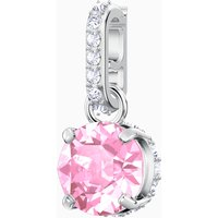 Swarovski Remix Collection Charm, October, Pink, Rhodium plated - Pink Gifts