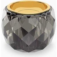 Swarovski Nirvana Ring, Grey, Gold-tone PVD - Nirvana Gifts