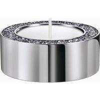 Minera Tea Light Holder, Small, Silver tone - Silver Gifts