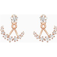 Penélope Cruz Moonsun Pierced Earring Jackets, White, Rose-gold tone plated - Jackets Gifts