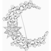 Penélope Cruz Moonsun Brooch, Limited Edition, White, Rhodium plated