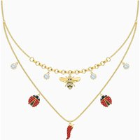 Lisabel Necklace, Red, Gold-tone plated - Necklace Gifts