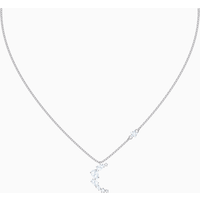 Penélope Cruz Moonsun Necklace, White, Rhodium plated - Necklace Gifts