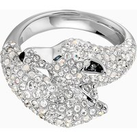 Polar Bestiary Wolf Cocktail Ring, Multi-coloured, Rhodium plated - Cocktail Gifts