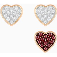 Swarovski Crystal Wishes Ohrringset, mehrfarbig, Rosé vergoldet