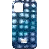 Swarovski Crystalgram Smartphone Schutzhülle mit Stoßschutz, iPhone® 11 Pro, blau