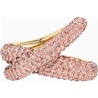 Tigris Ring, rosa, vergoldet