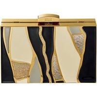 Swarovski Gilded Treasures Tasche, mehrfarbig dunkel, vergoldet