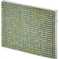 Swarovski Marina Kartenhalter, grün, palladiniert