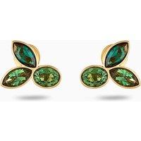 Beautiful Earth by Susan Rockefeller Stud Pierced Earrings, Green, Gold-tone plated - Beautiful Gifts
