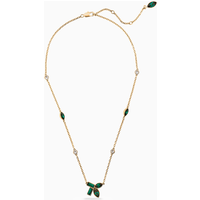 Beautiful Earth by Susan Rockefeller Necklace, Green, Gold-tone plated - Beautiful Gifts