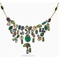 Beautiful Earth by Susan Rockefeller Necklace, Bib, Dark multi-coloured, Gold-tone plated - Beautiful Gifts
