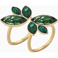 Beautiful Earth by Susan Rockefeller Ring Set, Green, Gold-tone plated - Beautiful Gifts