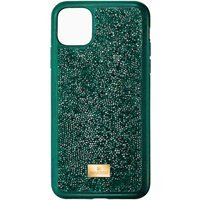 Swarovski Glam Rock Smartphone Schutzhülle mit Stoßschutz, iPhone® 11 Pro Max, grün