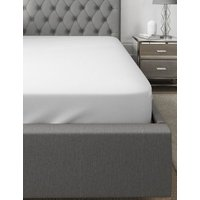 MandS Autograph Supimaandreg; Cotton 750 Thread Count Deep Fitted Sheet - 5FT - White, White,Light Grey