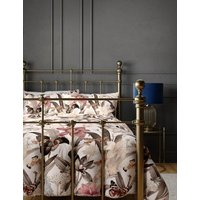 M&S Pure Cotton Floral Bedding Set - DBL - Pink Mix, Pink Mix
