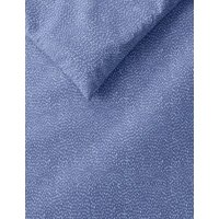 M&S 2 Pack Cotton Mix Dash Bedding Sets - DBL - Blue Mix, Blue Mix