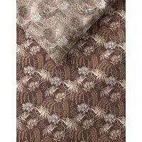 M&S Pure Cotton Palm Bedding Set - 6FT - Multi/Neutral, Multi/Neutral