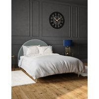 M&S Charleston Bed - 4FT6 - Silver, Silver