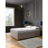 M&S Classic firm top 2+2 drawer divan - 5FT - Mink, Mink