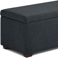 M&S Blanket Box - 5FT - Charcoal, Charcoal, Oatmeal, Grey, Silver T397600C