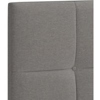 M&S Modern Buttoned Headboard - 3FT - Light Grey Mix, Light Grey Mix,Charcoal Mix,Light Duck Egg