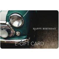 M&S Birthday Classic Car E-Gift Card - 60