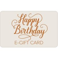 M&S Birthday Text E-Gift Card - 250